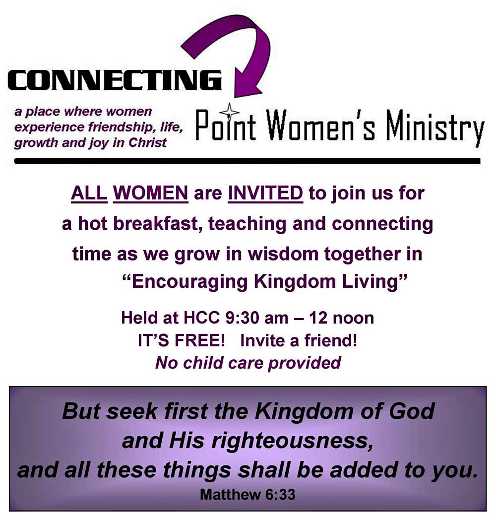 Connecting Point Women's Ministry